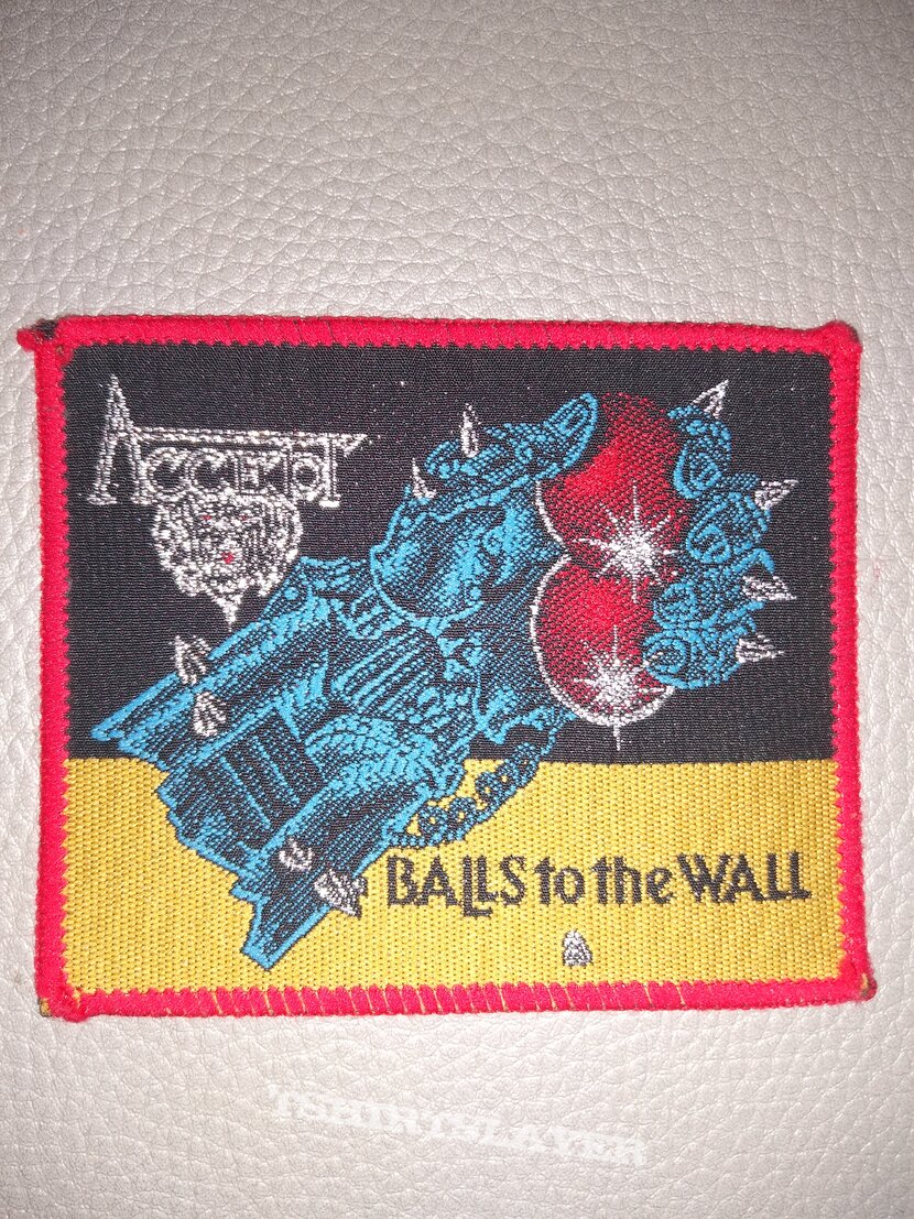 Accept -  Balls to the Wall - woven patch