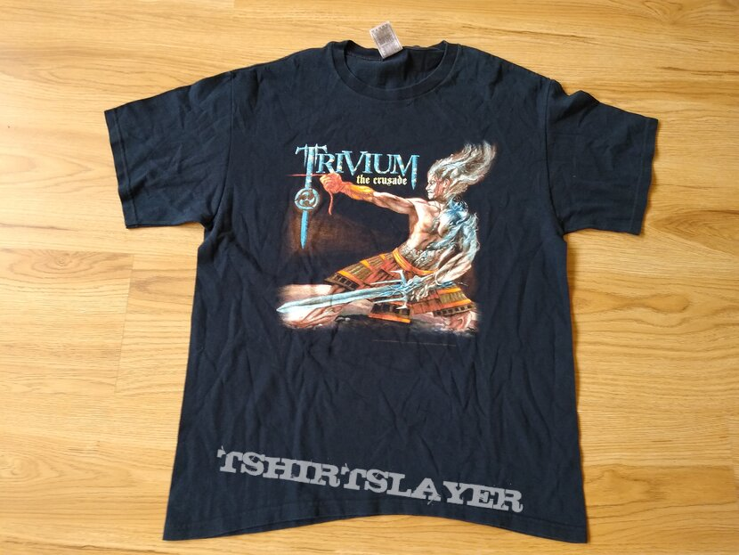 TRIVIUM - The Crusade 2006 Official t-shirt size - L
