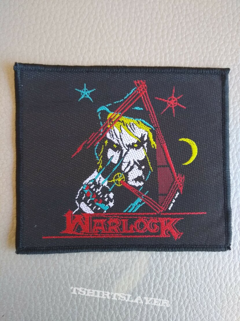Warlock - Hellhound - woven patch