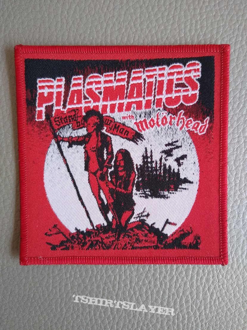 Plasmatics - Wendy and Lemmy - woven patch