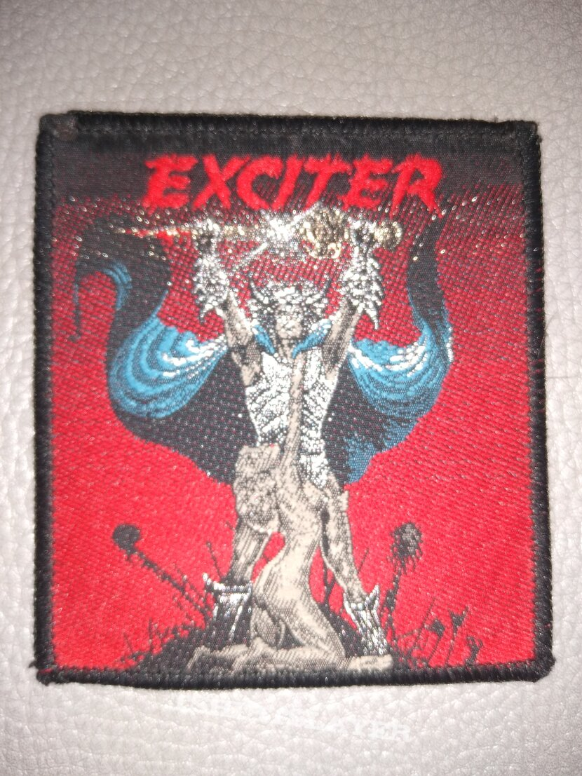 Exciter - Long live the Loud -  woven patch