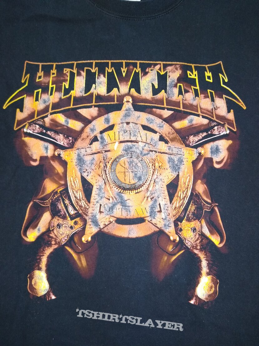 Hellyeah - Metal Outlaws t-shirt size - S