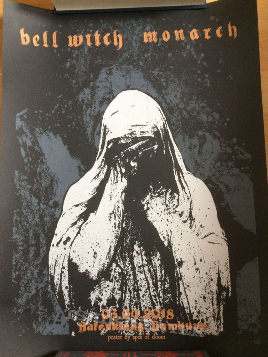Bell Witch / Monarch Tourposter Hafenklang