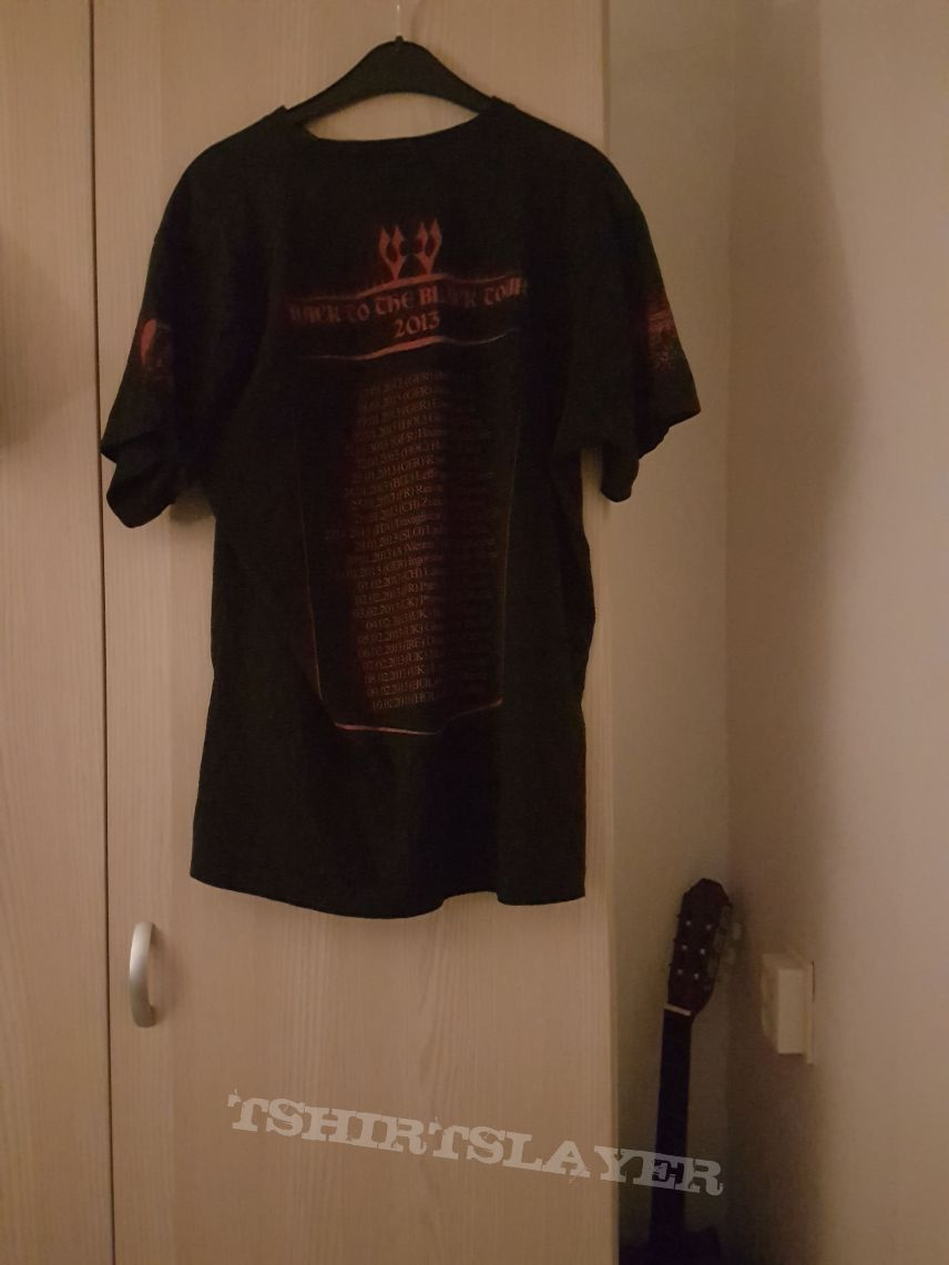 Vader Back To The Black tour shirt XL