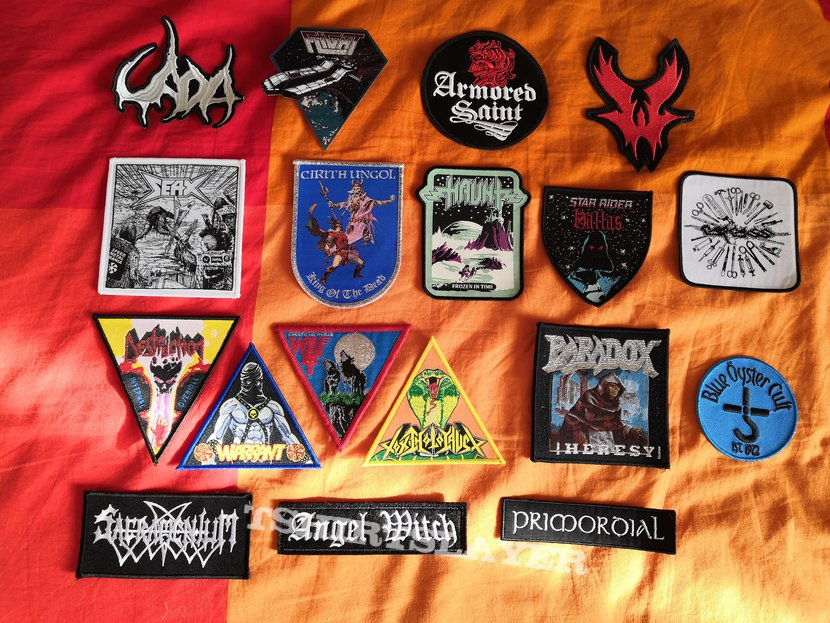 New patches for my jacket