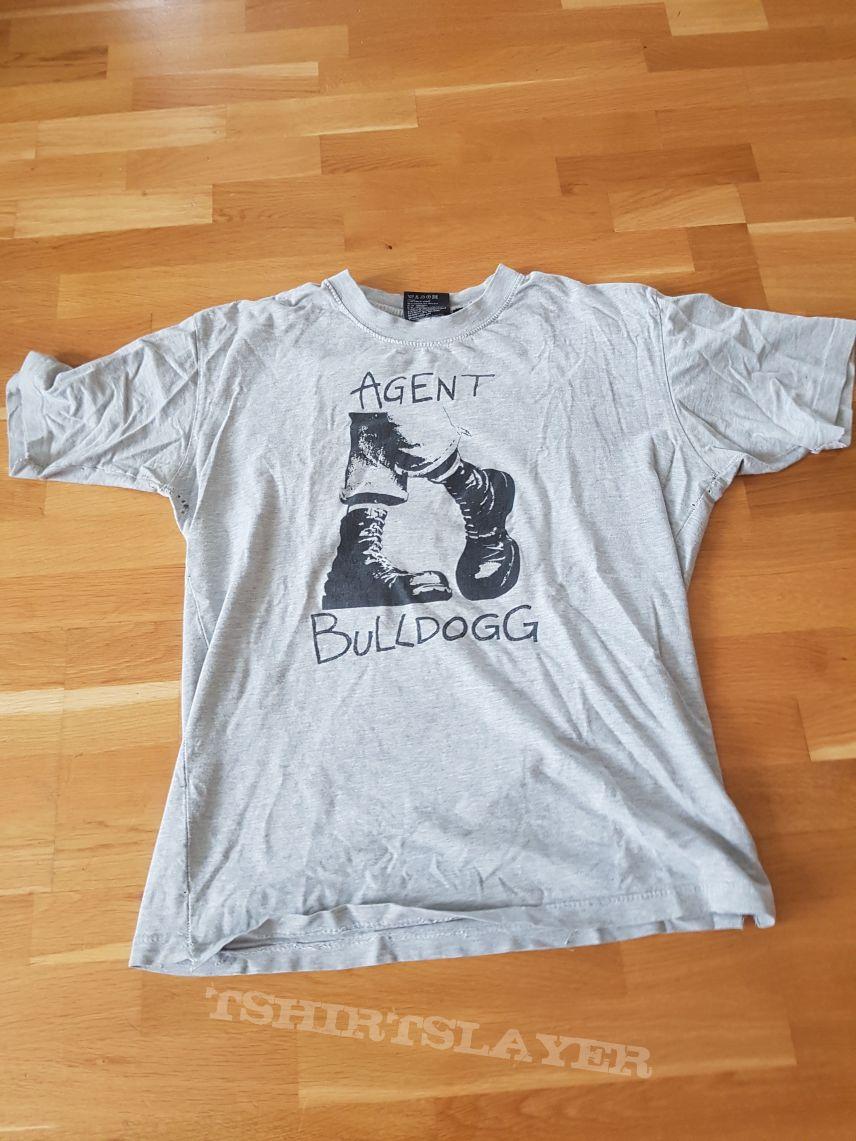 Agent Bulldogg boots t-shirt