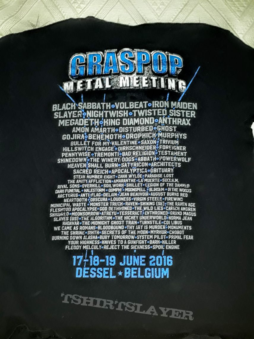 Graspop Metal Meeting 2016 Shirt (Blue)