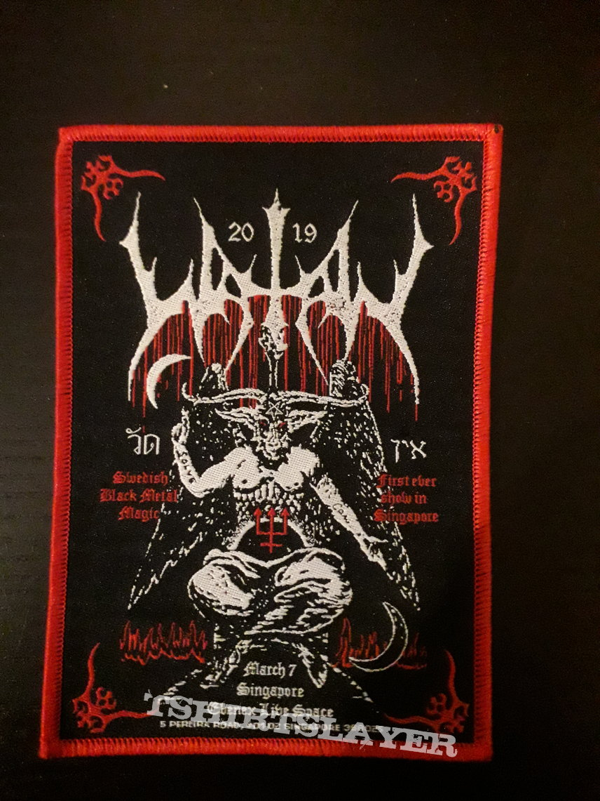 Watain live in Singapore patch