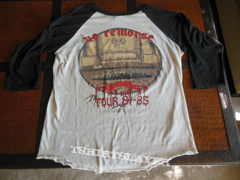 1984 Motorhead tour 3/4 jersey