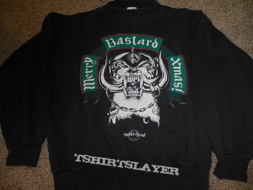 MOTORHEAD 1989 X-MAS UK Tour Sweatshirt
