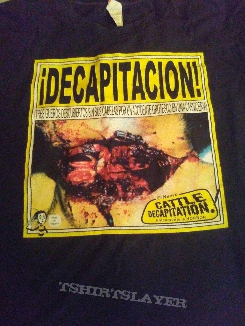 Catrle decapitacion