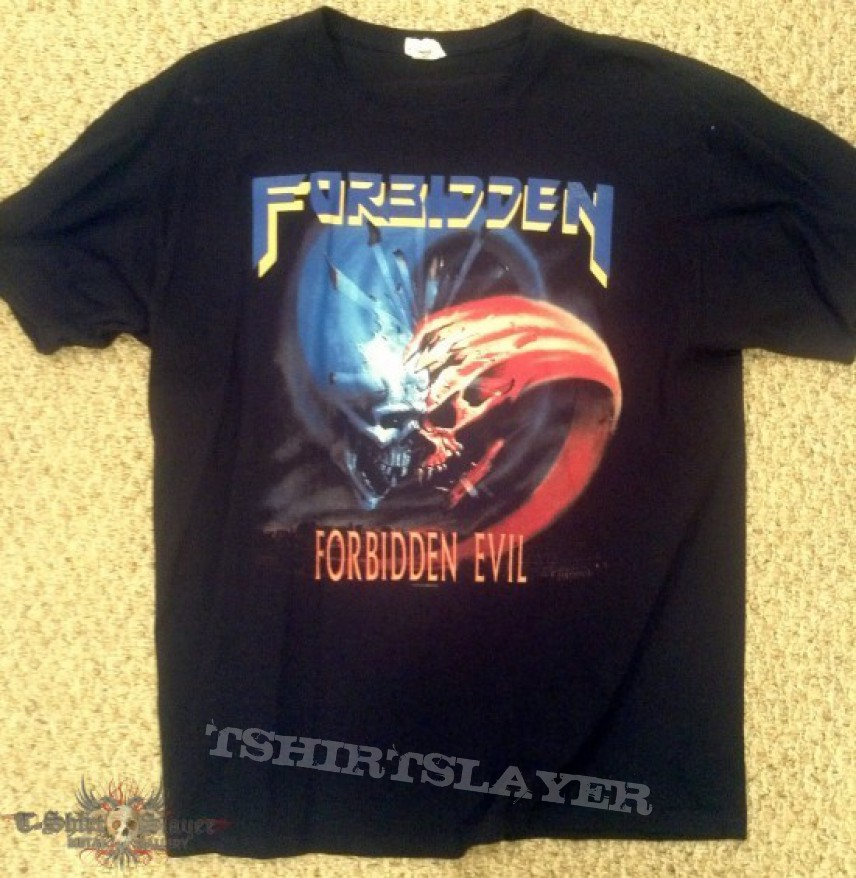 TShirt or Longsleeve - Forbidden - Forbidden Evil