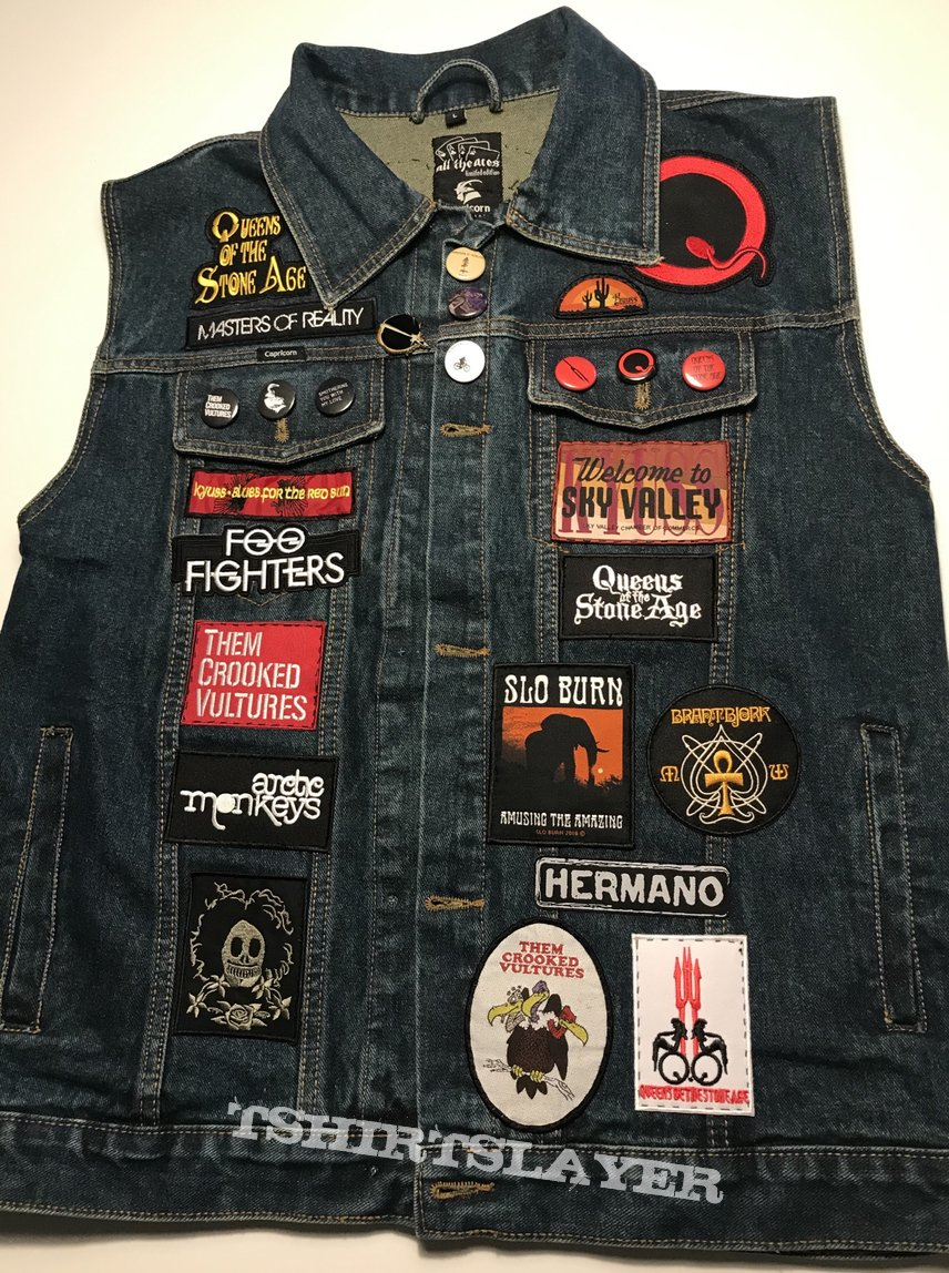 Palm Desert scene tribute battle jacket (phase II)