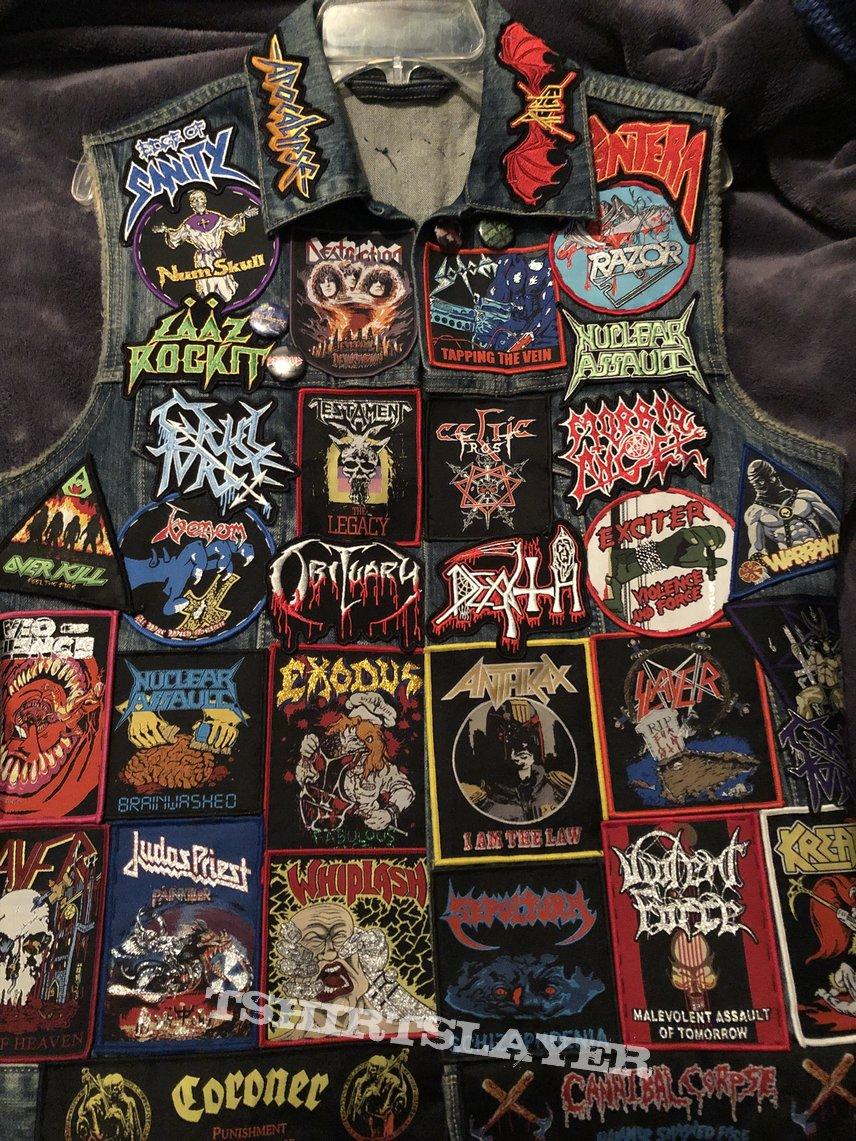 My battle vest ! Just gettin started