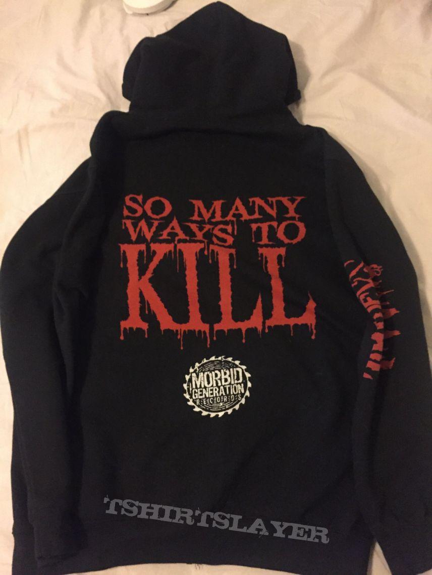 "WACO JESUS ""So Many Ways To Kill"" Hoodie"