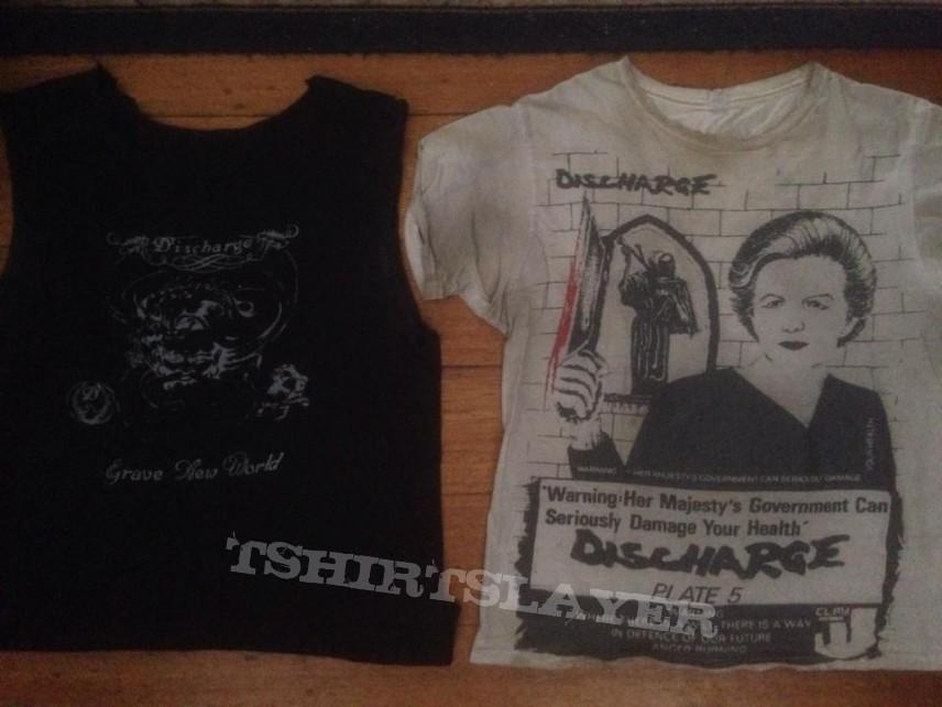83-86 Discharge shirts