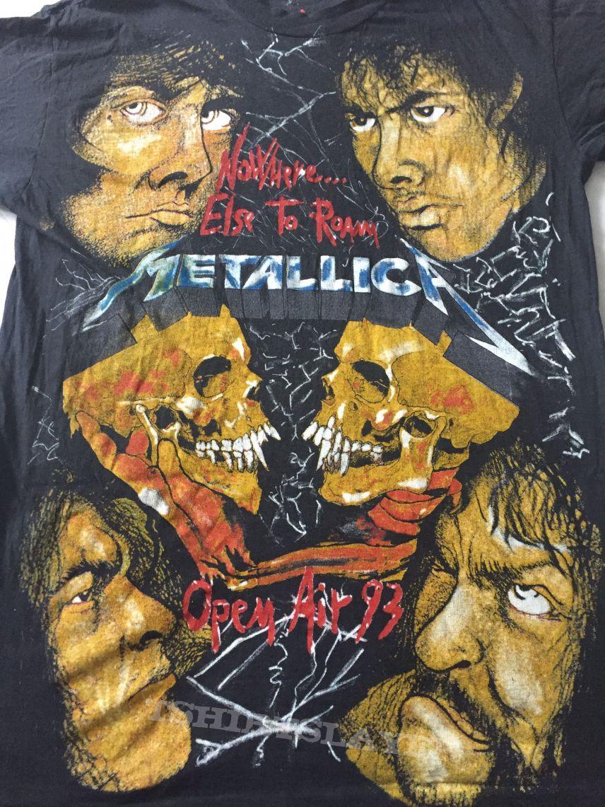 metallica bootleg vintage t-shirt | TShirtSlayer TShirt and