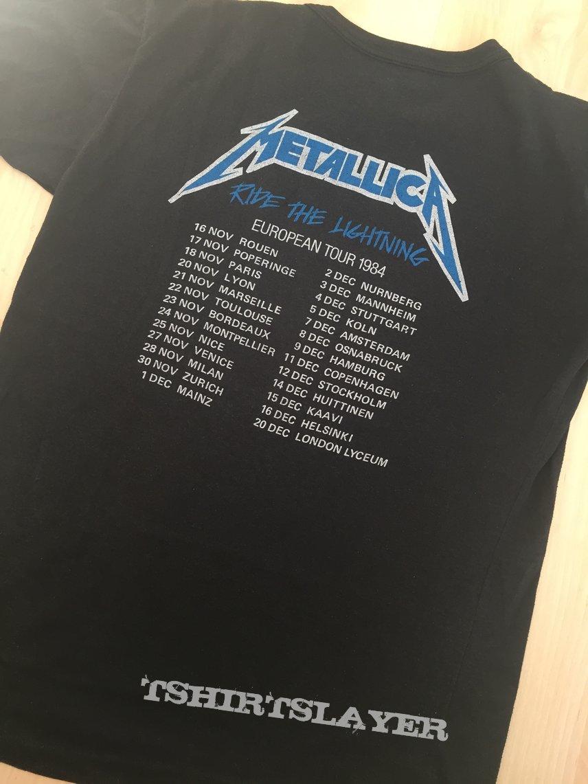 Metallica RTL 1984 euro tour