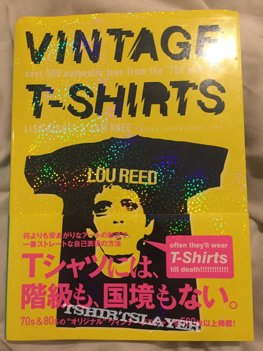 Vintage T-shirts Book