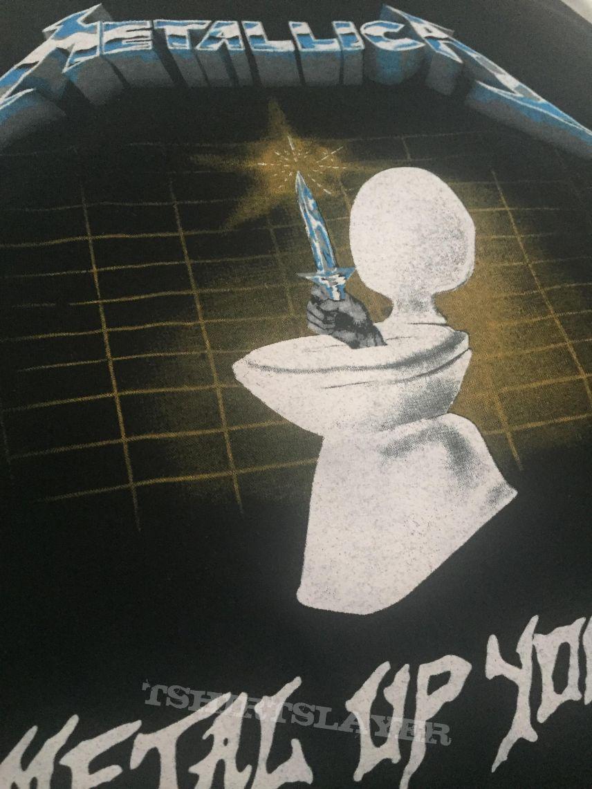 Metallica metal up your ass 80's