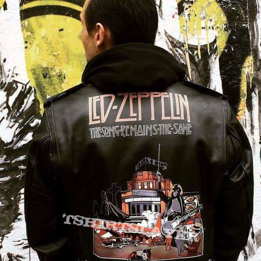 Iron Maiden hand painted leather jackets