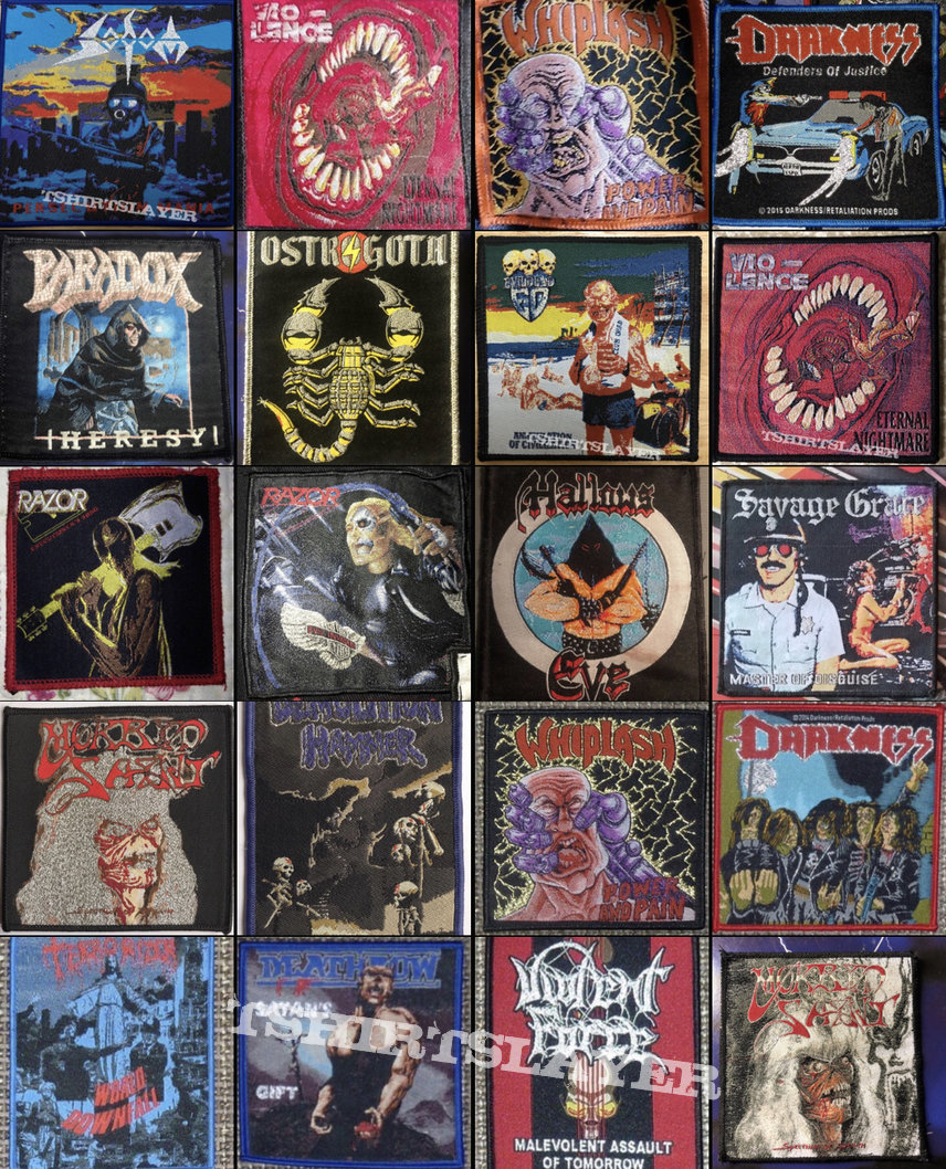 Thrash/Speed Metal Bootleg Patch Wantlist