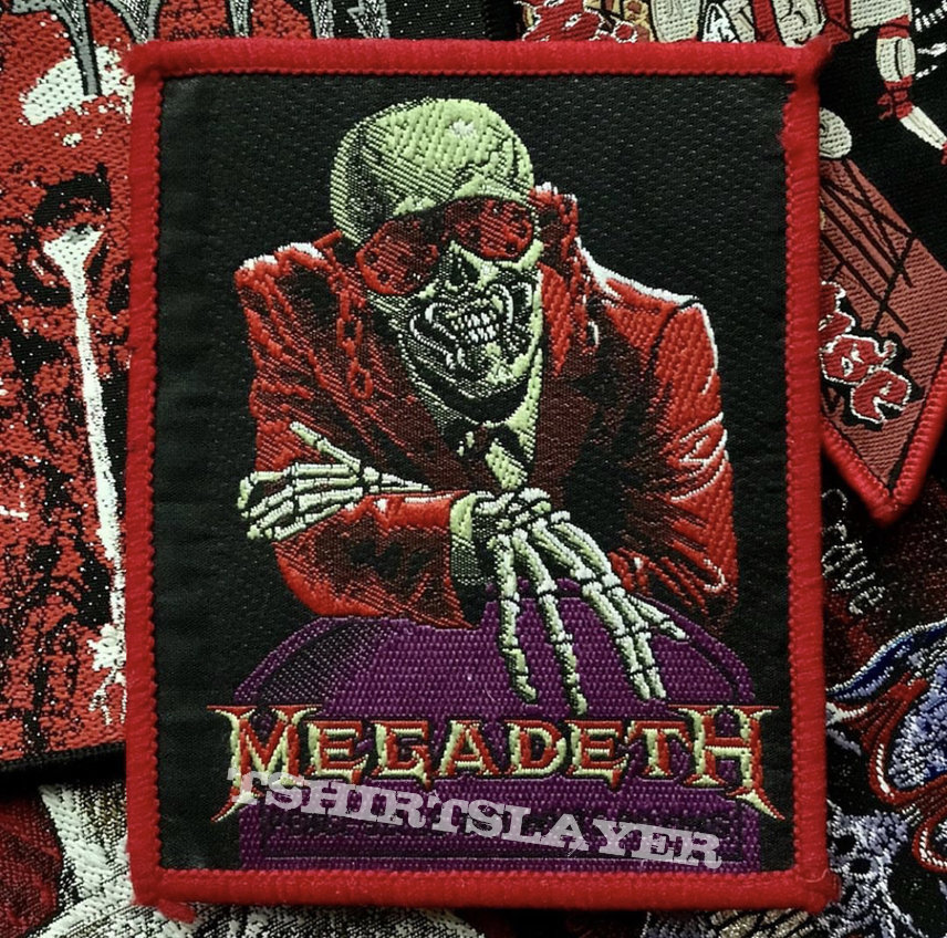Megadeth - Peace Sells, But Who's Buying? Red Border Patch