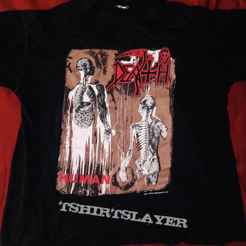 Death - Human Tour 1991 Shirt