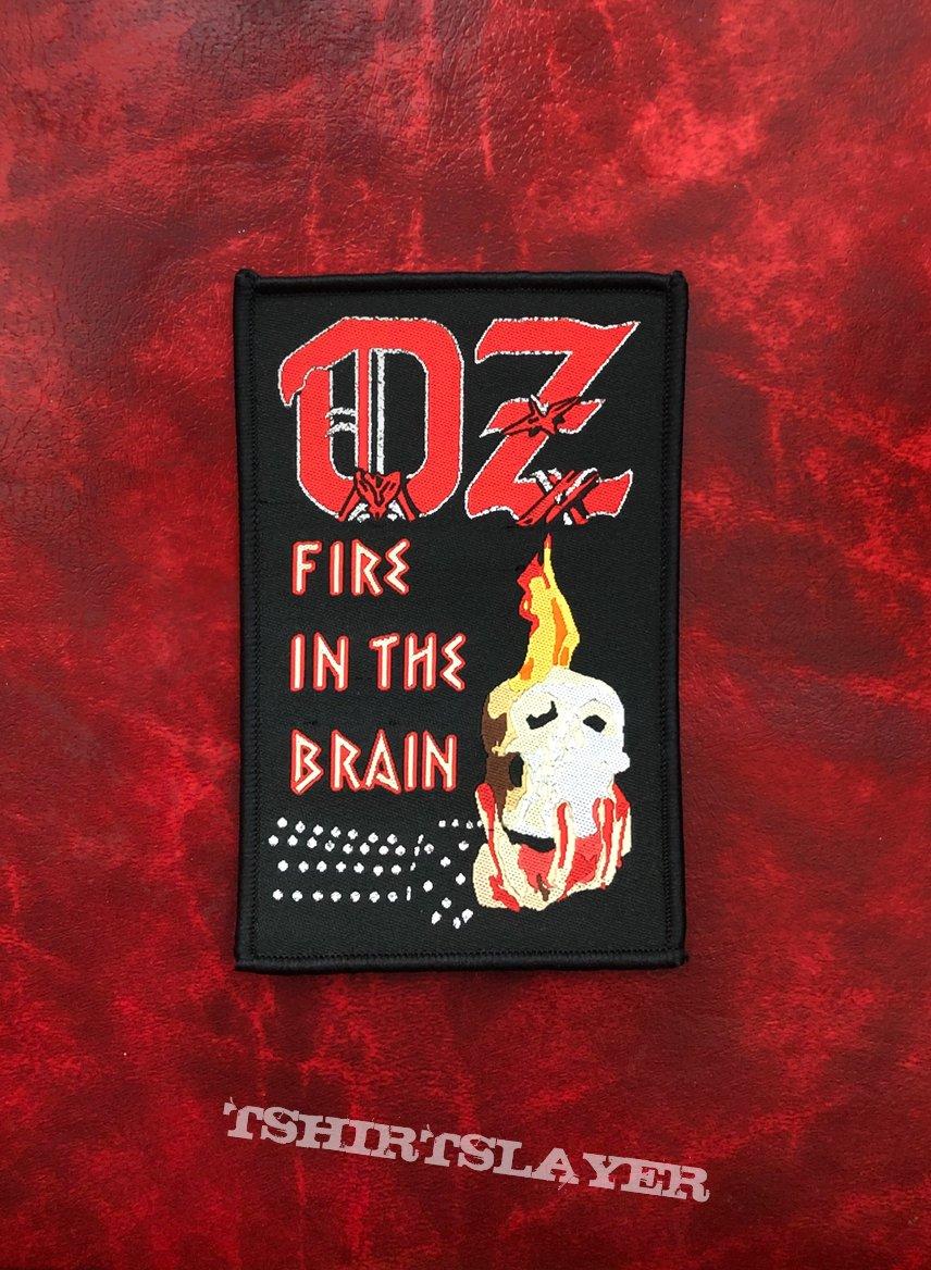 OZ - Fire In The Brain Patch