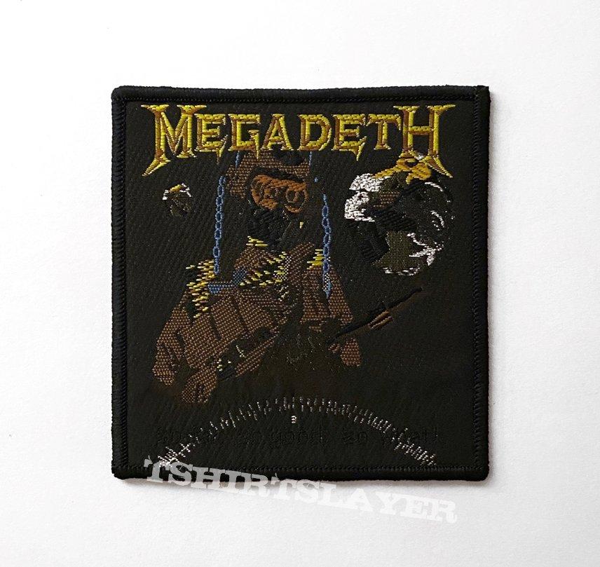 Megadeth - So Far, So Good... So What! Patch (Misprint)