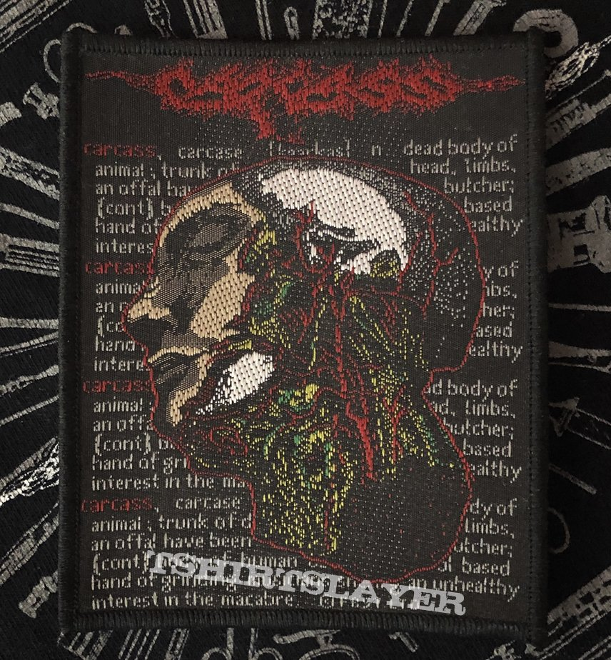 Carcass - Necrohead Official 2019 Patch
