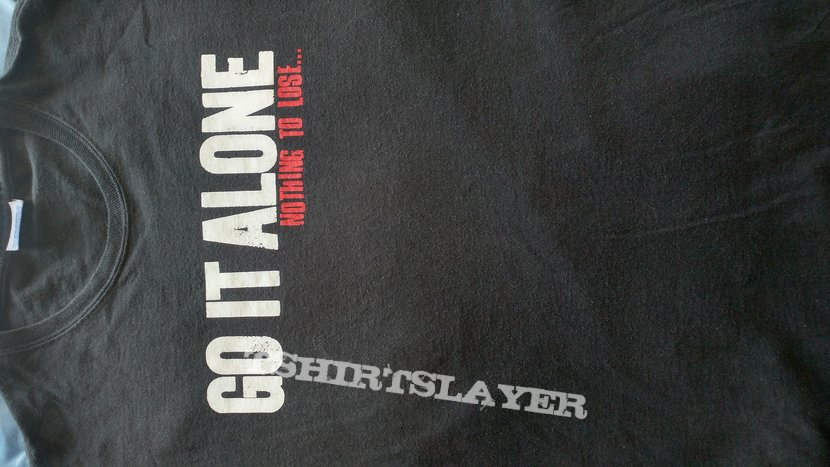 Go It Alone Cold Winter shirt