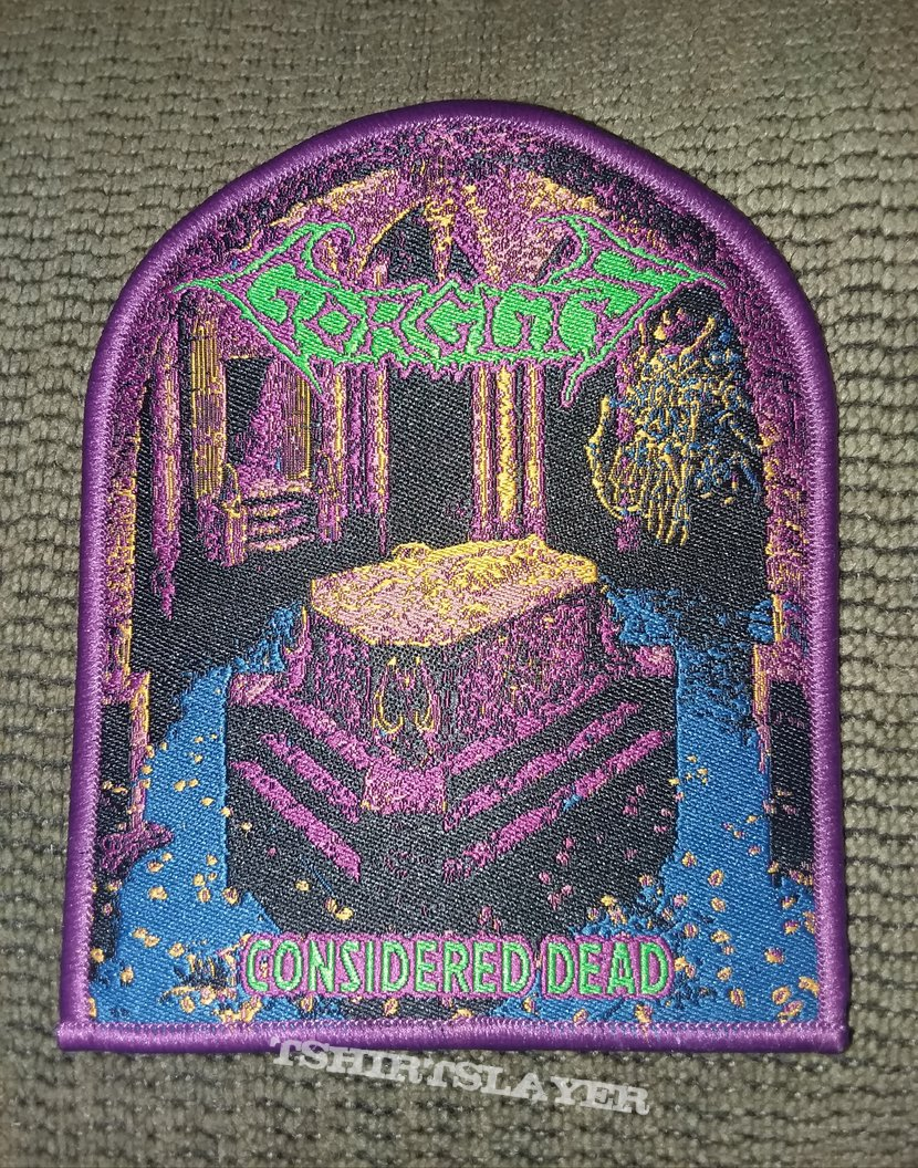 Gorguts - Considered Dead patch