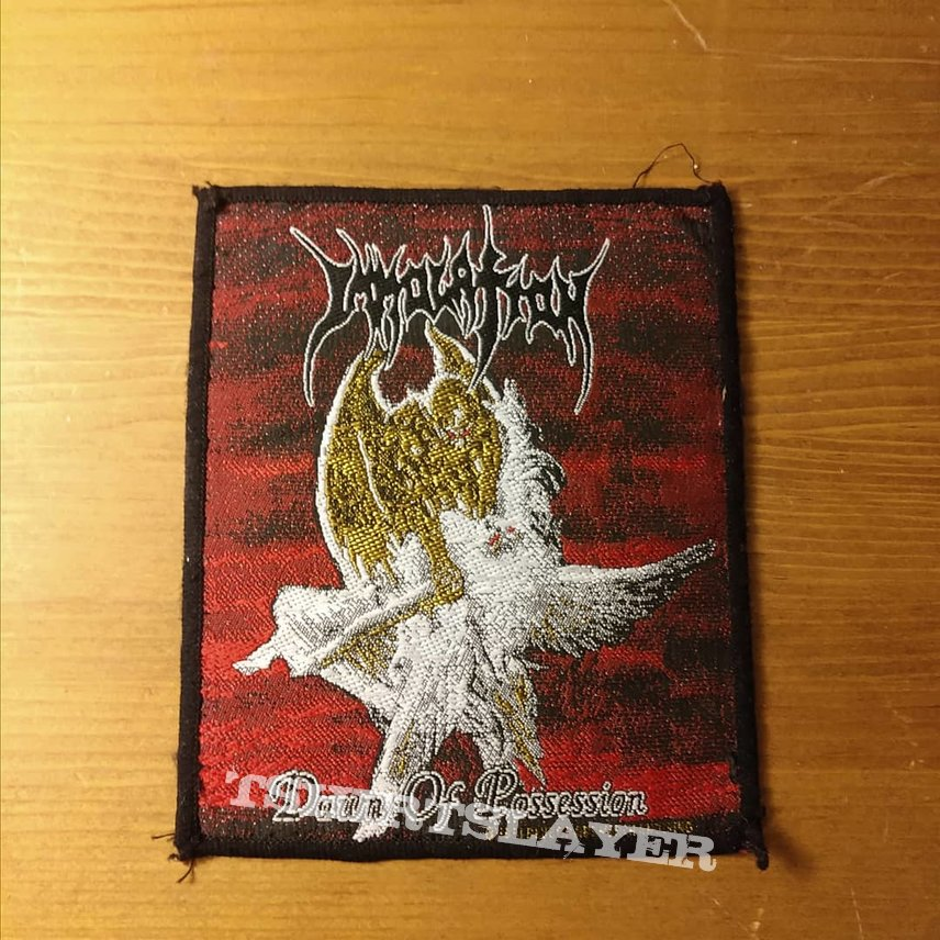 Immolation Dawn of Possession Vintage Patch