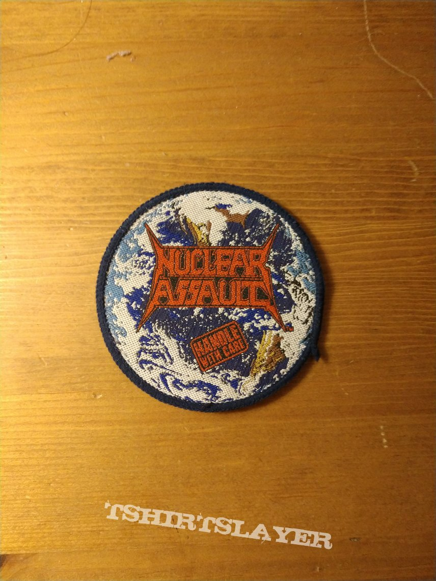 Nuclear Assault - Handle With Care Vintage Patch