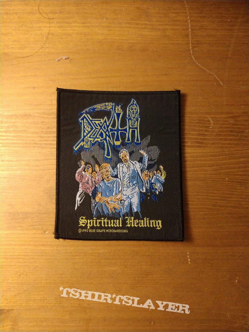 Death - Spiritual Healing Vintage Patch