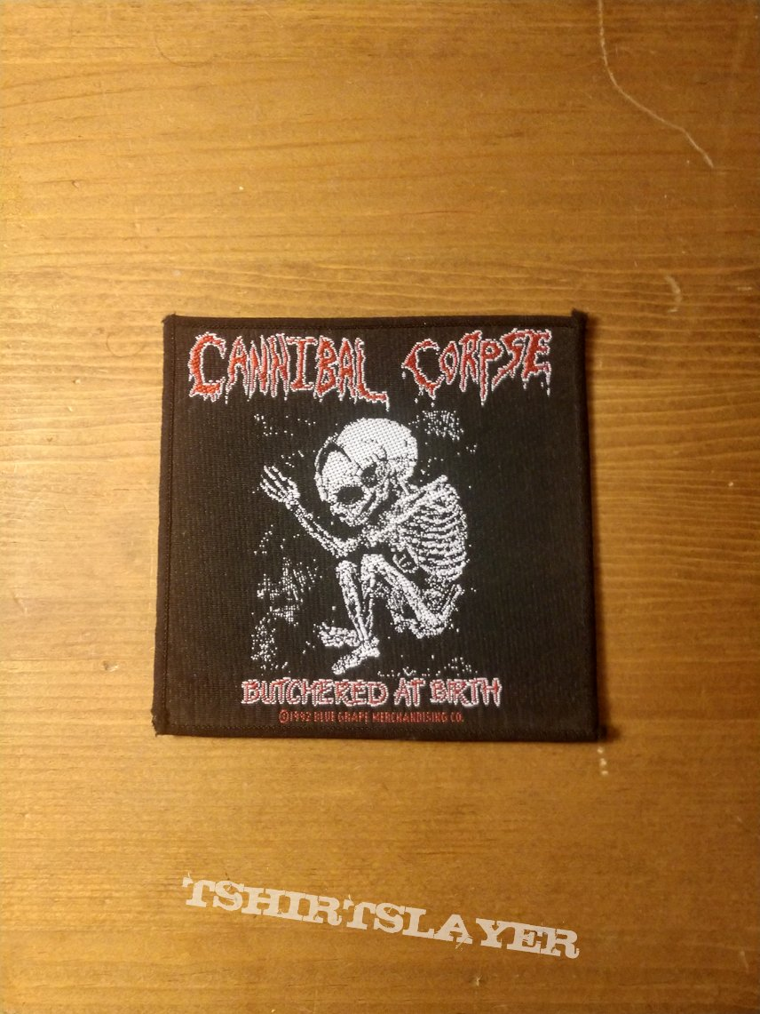 Cannibal Corpse - Butchered At Birth (Vintage Patch)