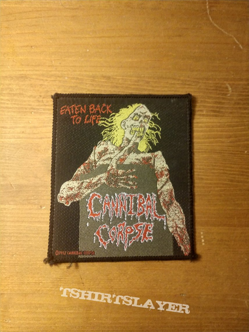 Cannibal Corpse - Eaten Back To Life (Vintage Patch)