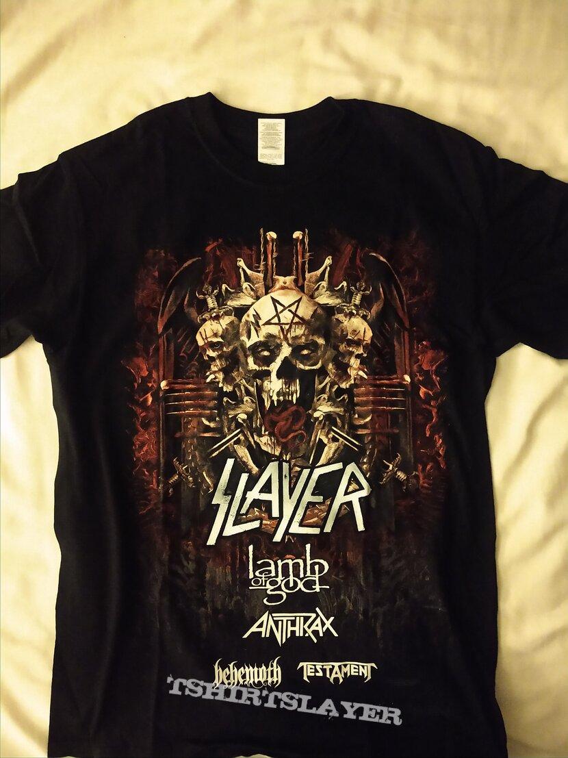 Slayer - Tour Shirt (2018) 2