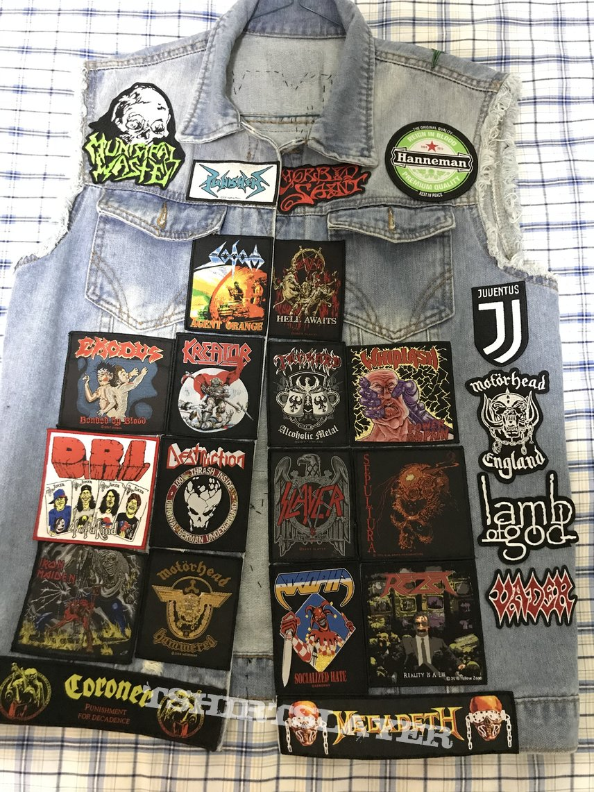 Unfinished jacket