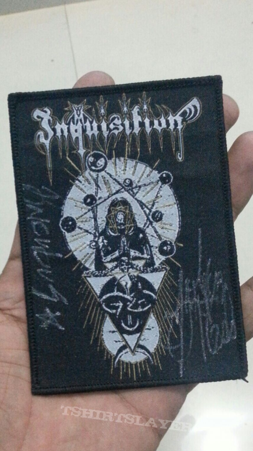 Inquisition Signed Patch