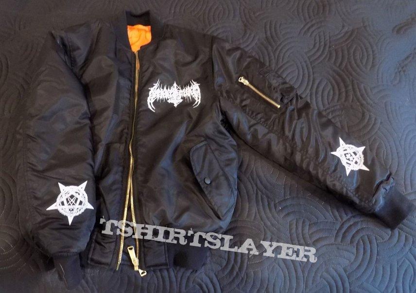 NEKKROFUKK bomber jacket