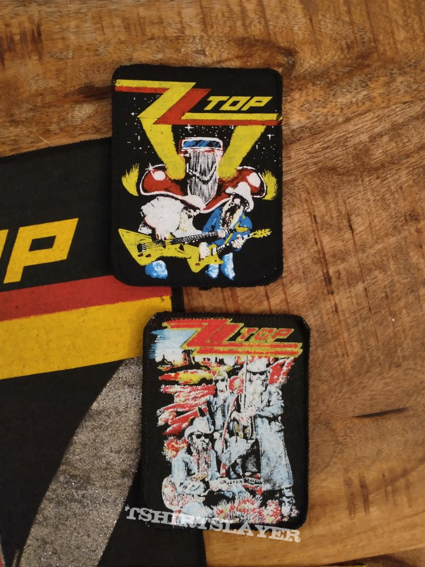 ZZ Top Patches