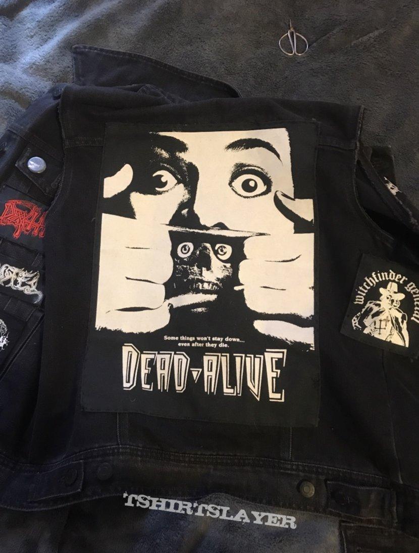 Horror/Doom/Death/Black metal vest in progress