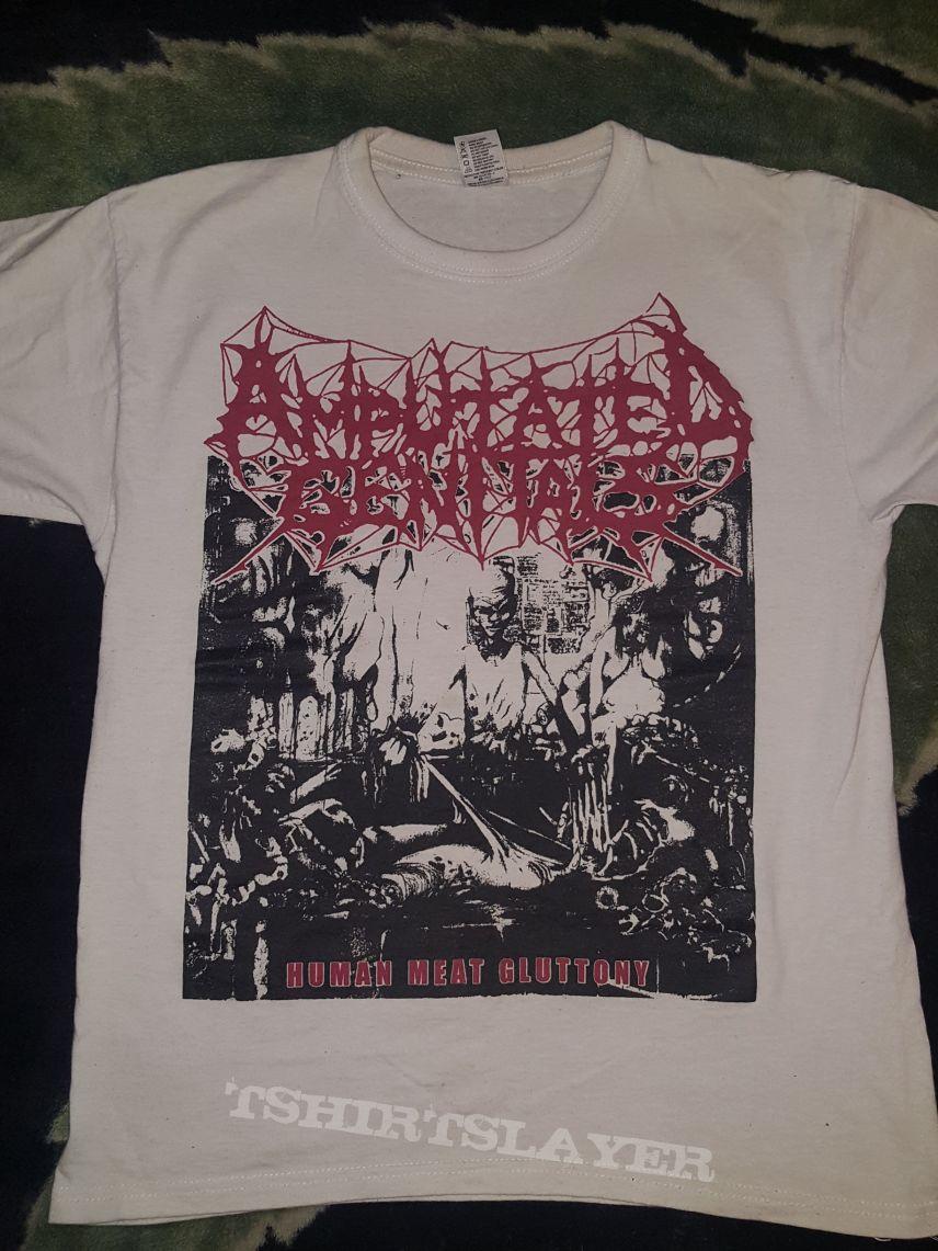 Amputated Genitals - Human Meat Gluttony Shirt | TShirtSlayer TShirt