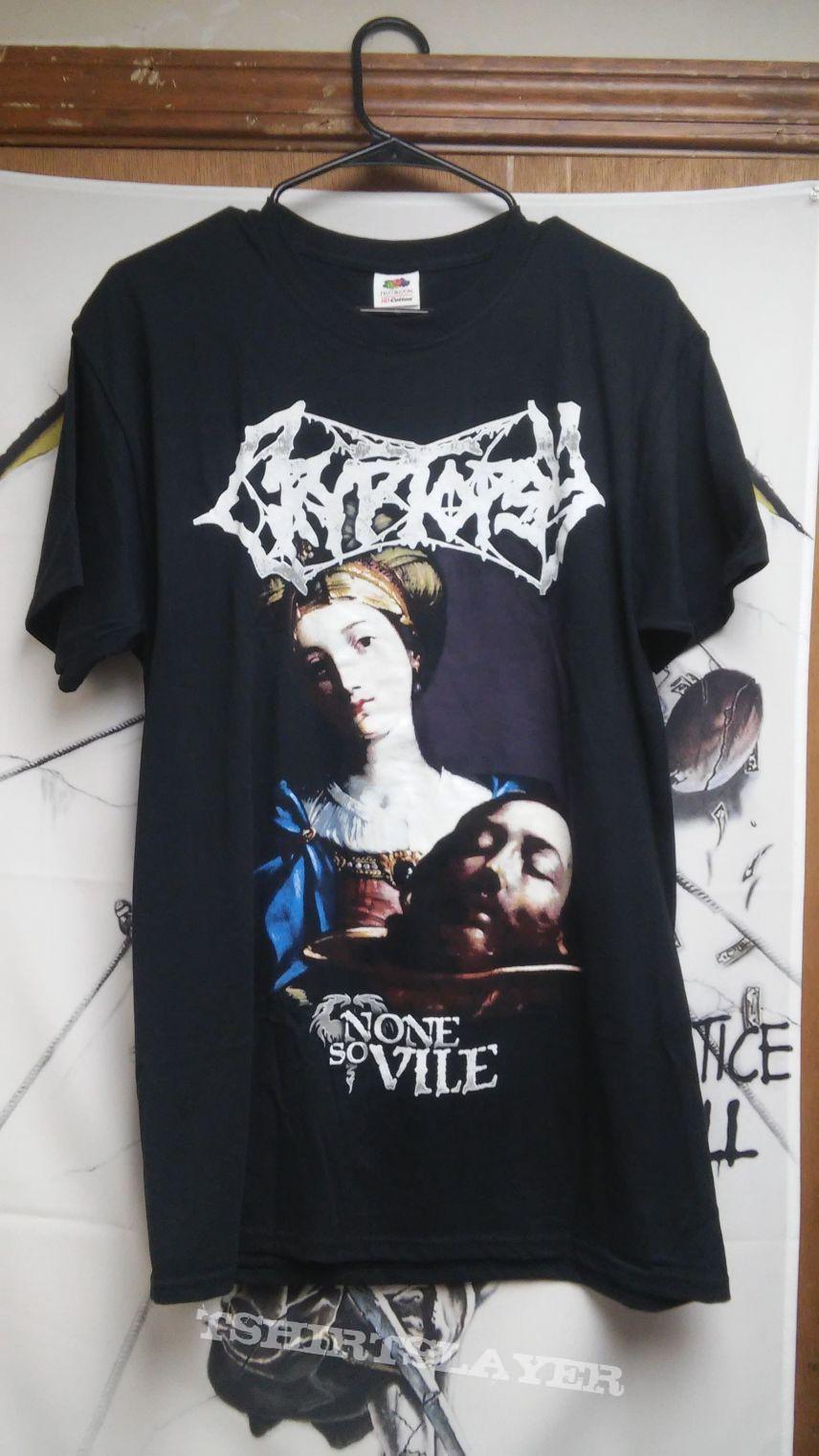 Cryptopsy none so vile shirt