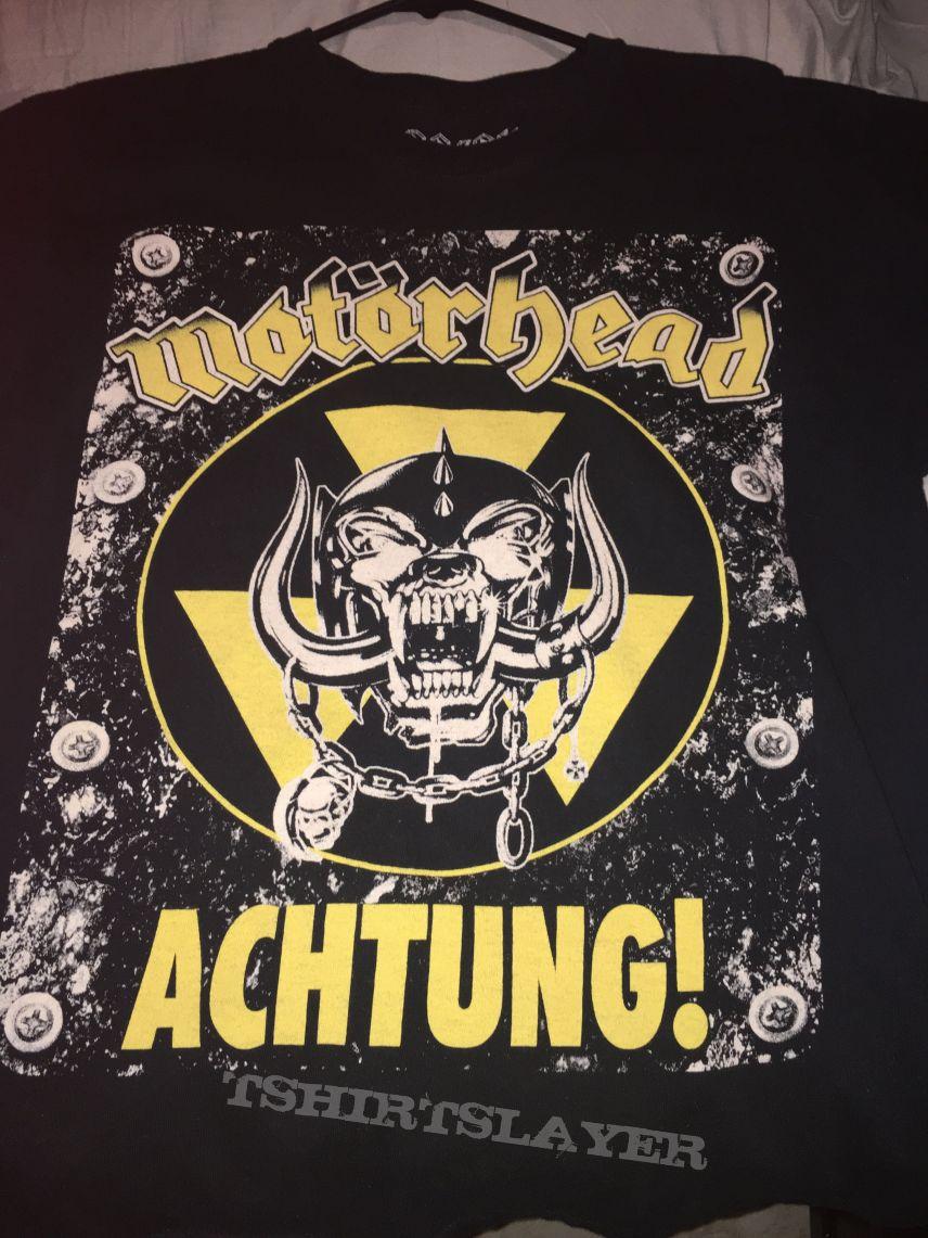 Motörhead: *Rare* Limited Edition Achtung! Tee ;)