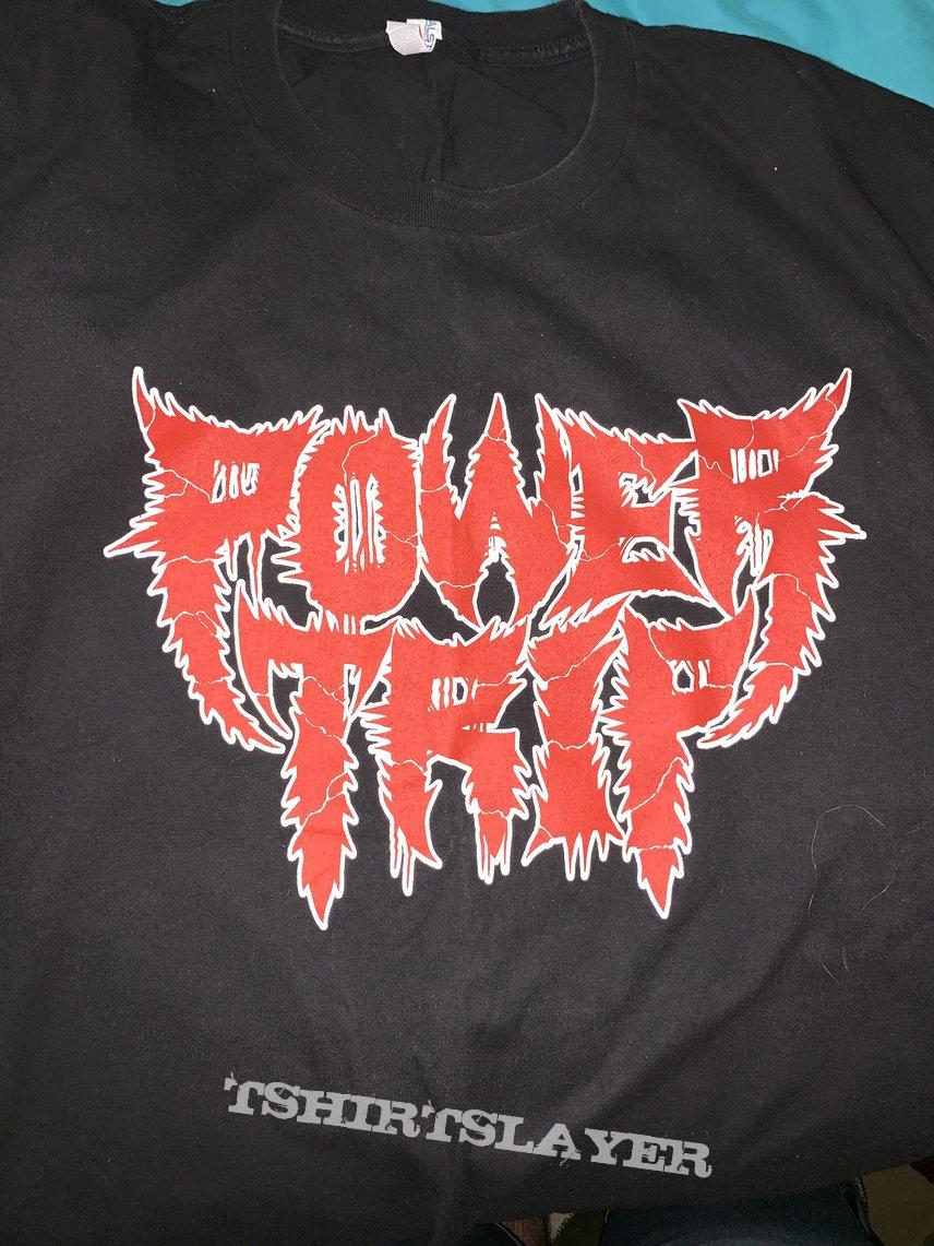 Power Trip: *rare* 2017 Crimson Red Logo T-Shirt