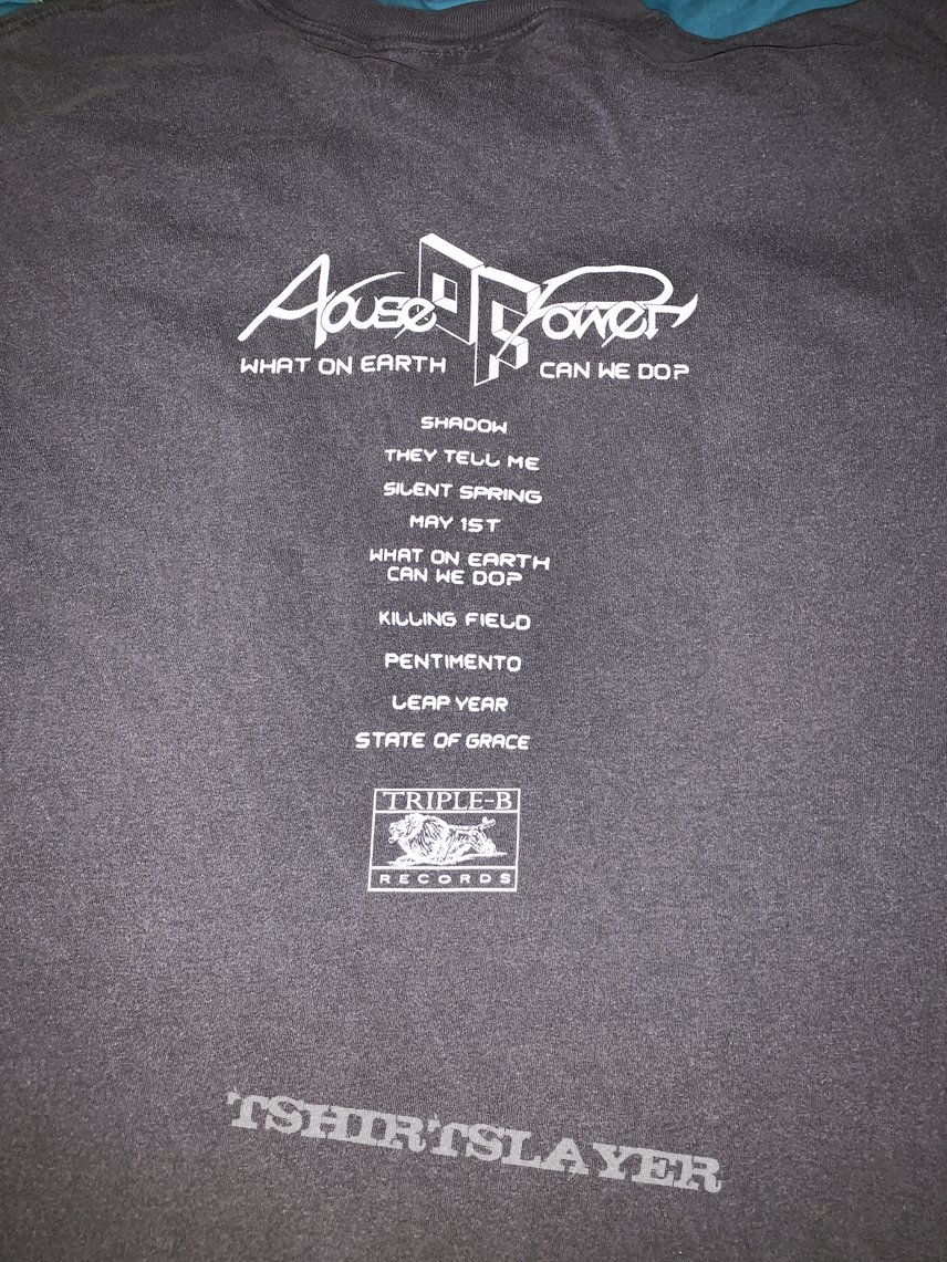 Abuse Of Power: *exclusive* What On Earth Can We Do album t-shirt