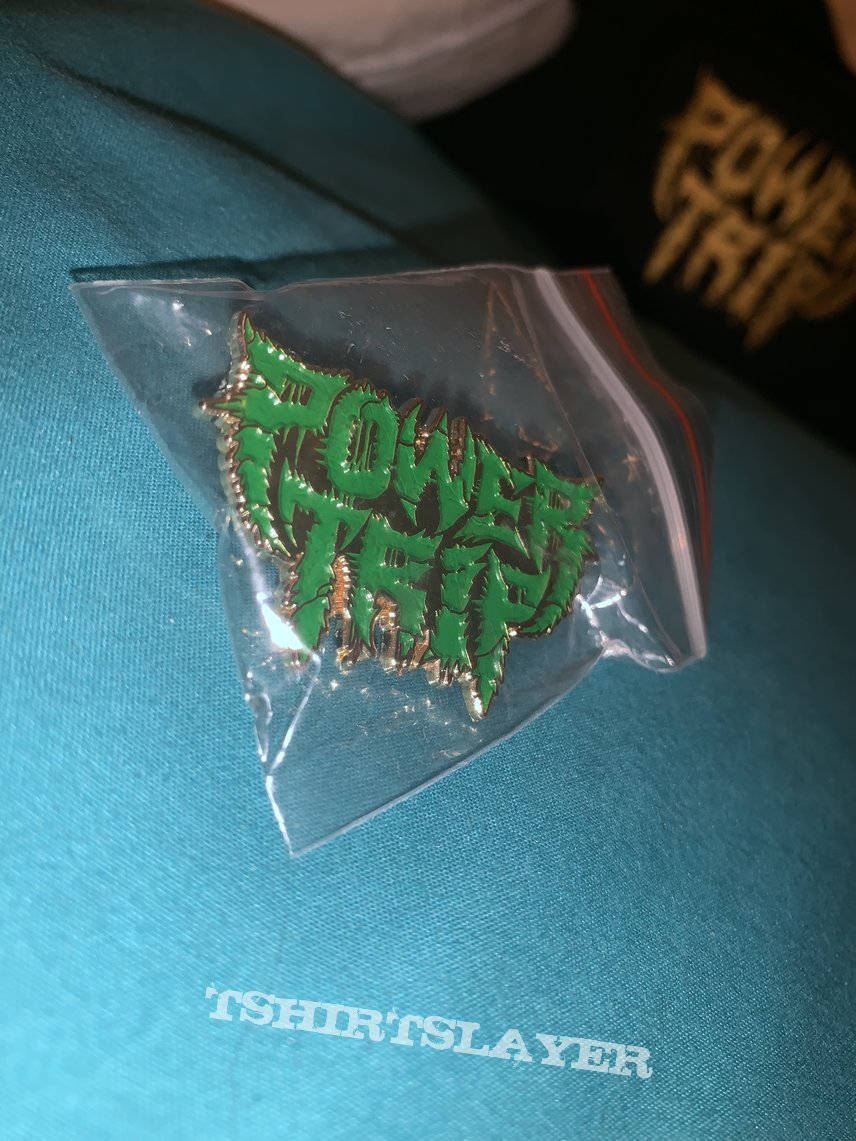 Power Trip: *rare* Green pin